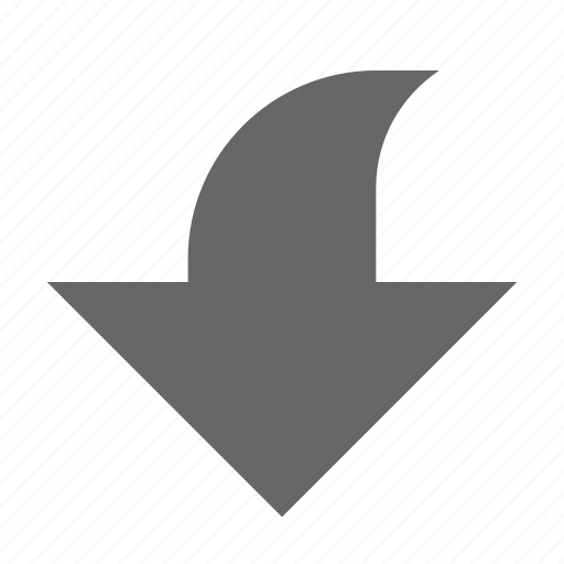 arrow, bottom, direction, down, download, guardar, save, south icon