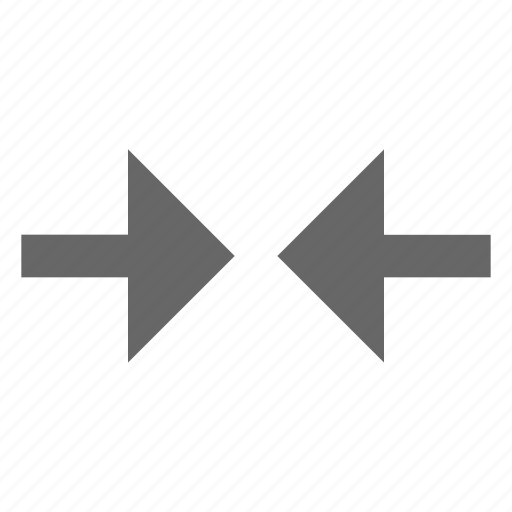 arrow, collapse, condense, move, shrink, sides, width icon