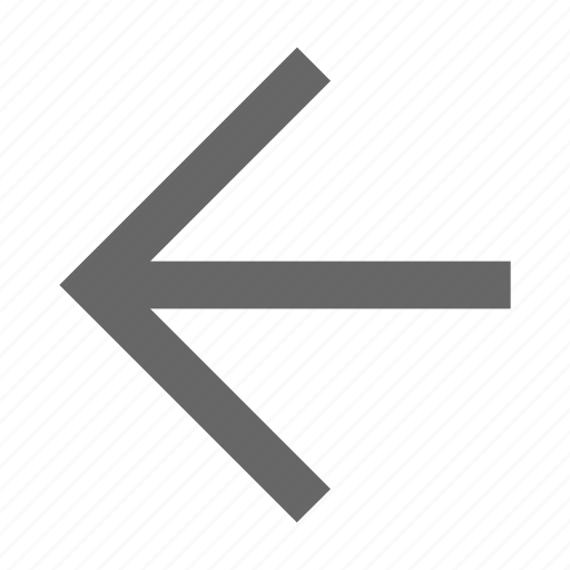 arrow, back, direction, left, previous, west icon