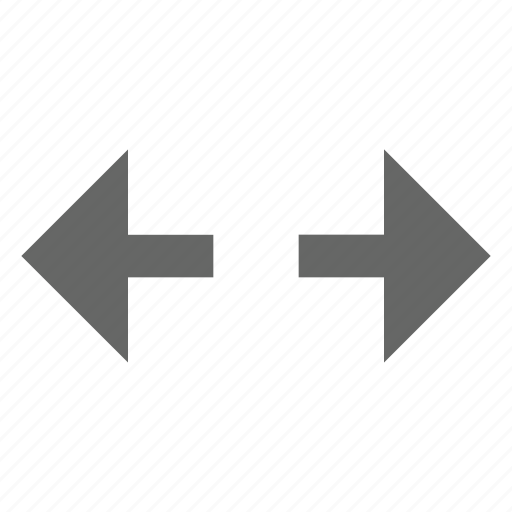 arrow, east west, left right, move, resize, size, width icon
