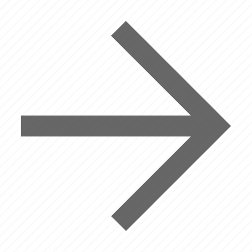 arrow, direction, east, forward, next, right, send icon