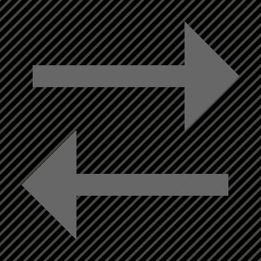 arrow, direction, flip, flop, swap, switch, transfer icon
