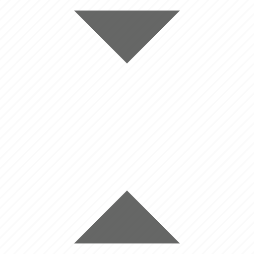center, collapse, middle, minimize, shrink, triangle icon
