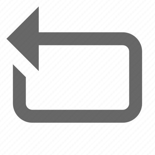 back, cycle, loop, media, repeat, reverse, sync icon