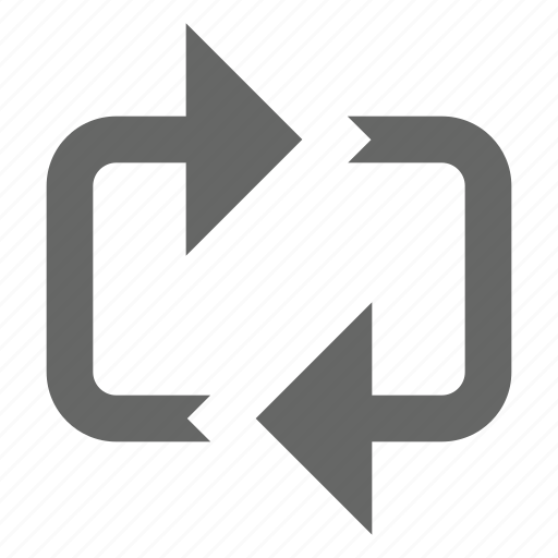 cycle, loop, media, repeat, rotate, sync icon