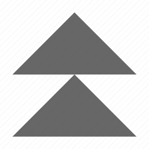 direction, north, top, triangle, up, upload icon