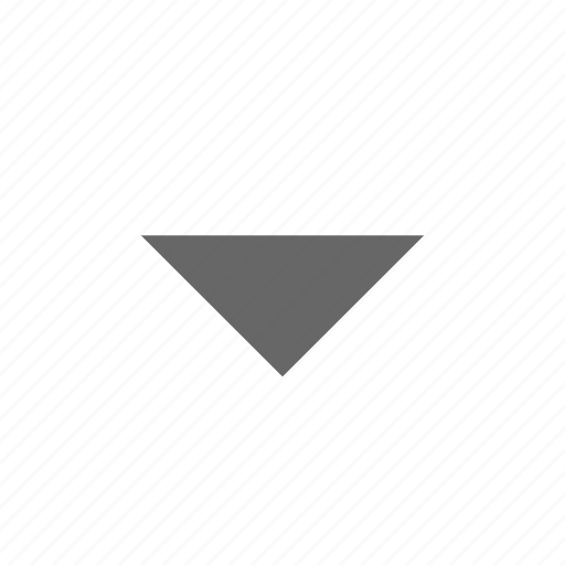 bottom, down, download, drop down, guardar, save, south, triangle icon