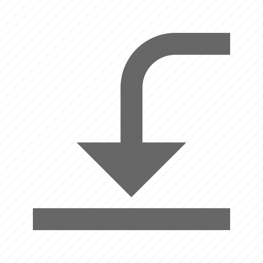 downloadleftdown icon