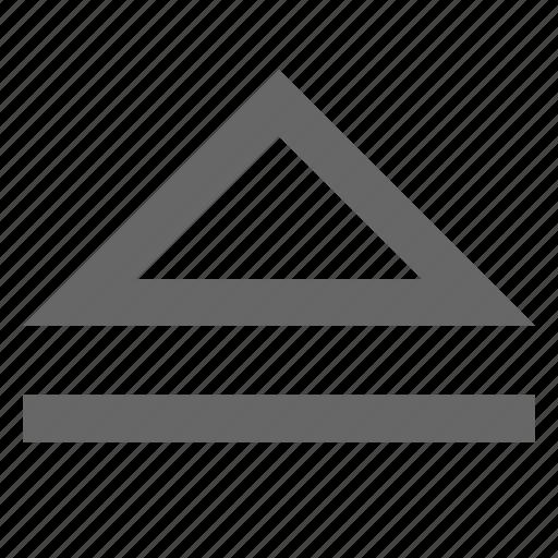 disk, eject, load, media, multimedia, up, upload icon