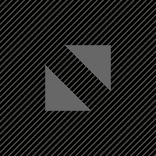 corners, expand, fullscreen, maximize, move, resize, triangles icon