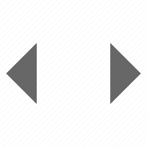 direction, east west, expand, left right, move, resize, width icon