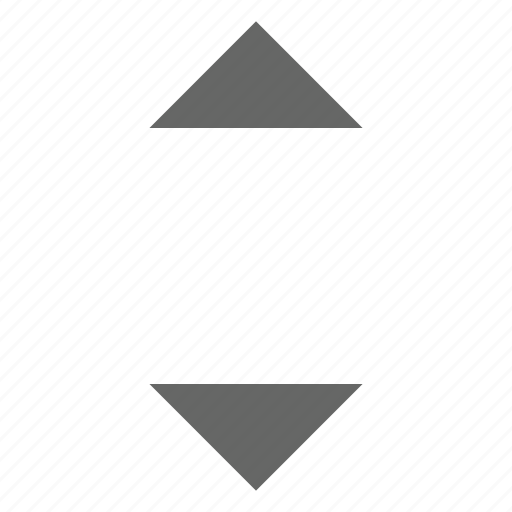 expand, height, move, north south, resize, top bottom, triangle icon
