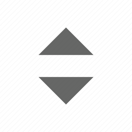 expand, height, move, resize, top bottom, triangle, up down icon