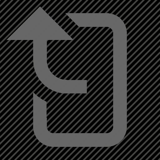 export, forward, send, share, transfer, upload icon