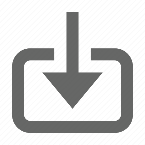 archive, down, download, guardar, import, receive, save, transfer icon