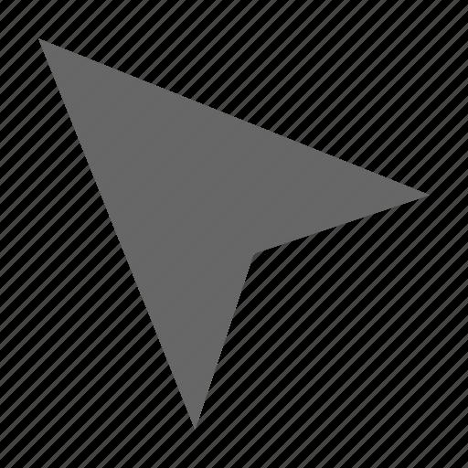 curser, direction, location, navigation, northwest, pointer, top left icon