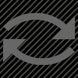 clockwise, cycle, loop, repeat, reverse, rotate, swap icon