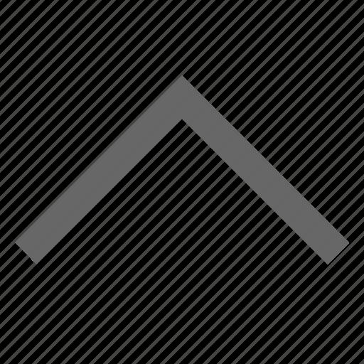 chevron, direction, north, send, top, up, upload icon