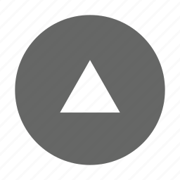 alt, circle, solid, triangle, up, upload icon
