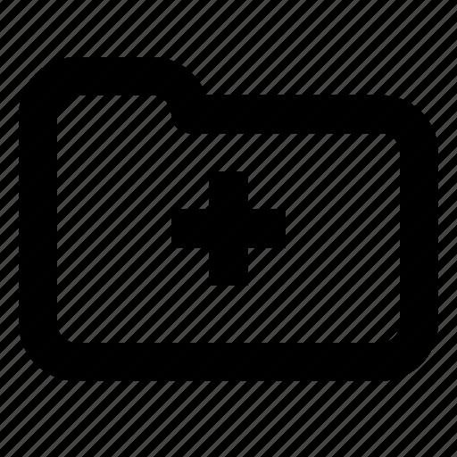 add, document, file, folder, group, plus icon