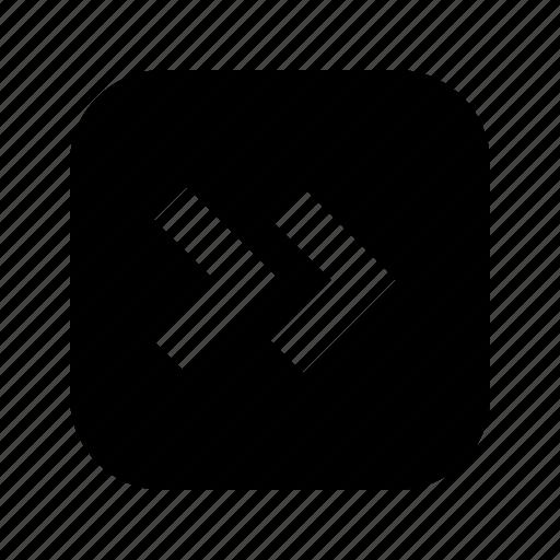 chevron, right icon