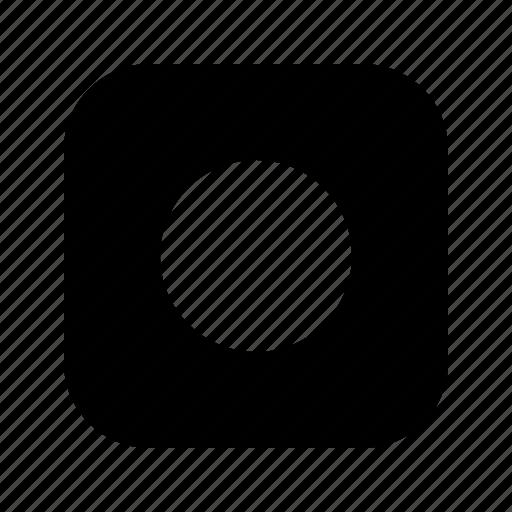 circle, large icon