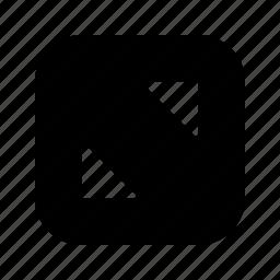 alt, corners icon
