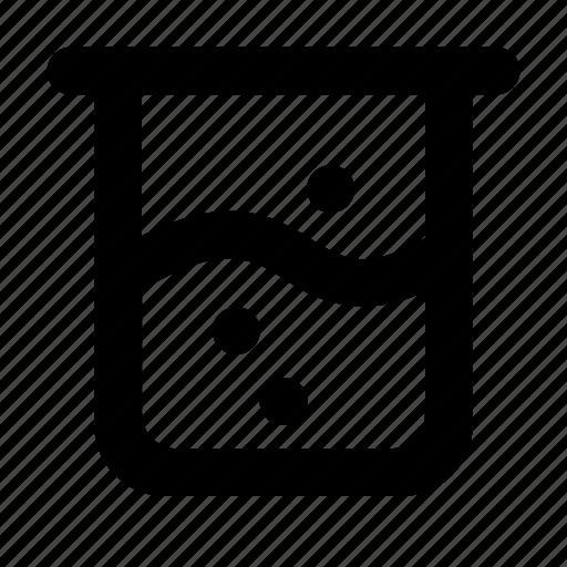 beaker, chemistry, lab, laboratory, medicine, science, test icon