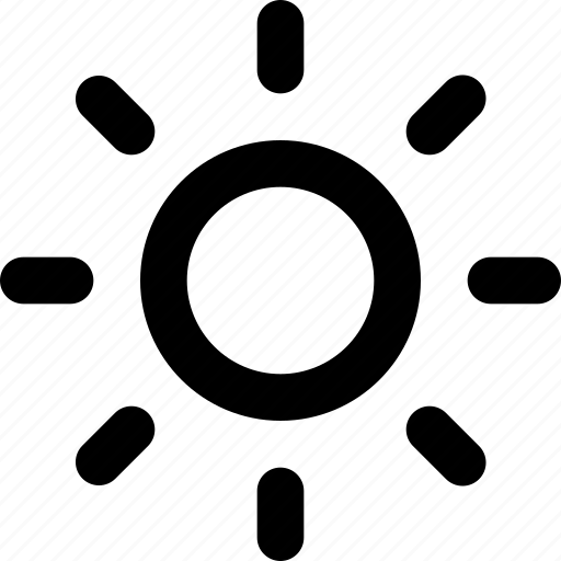 brightness, day, forecast, science, sun, sunny, weather icon
