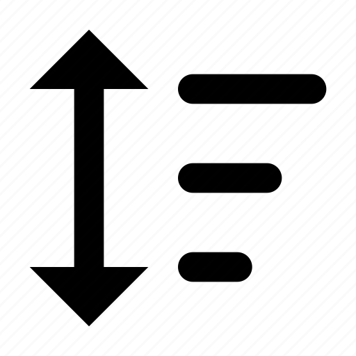 arrange, filter, funnel, order, result, results, sort icon