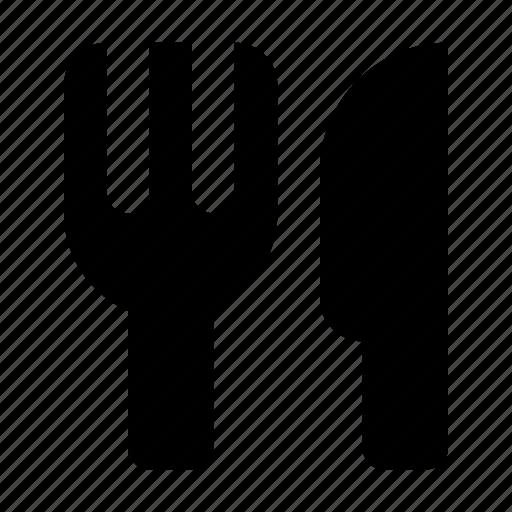 eat, food, fork, knife, restaurant icon
