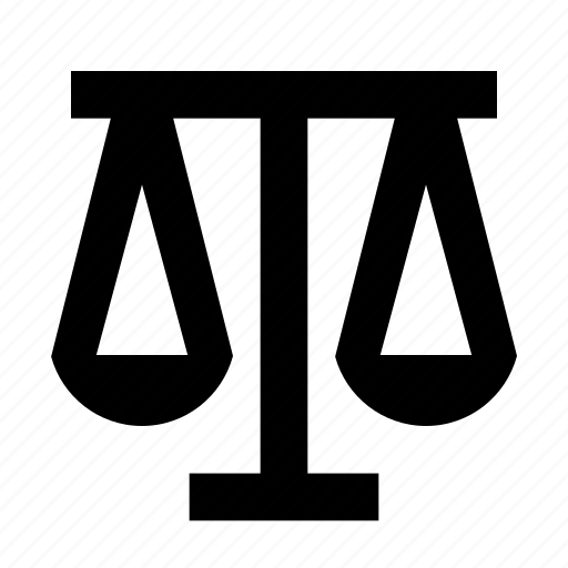 court, judge, justice, law, lawyer, legal, scale icon