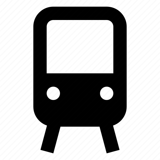 train, transit, transportation, travel, trolly icon