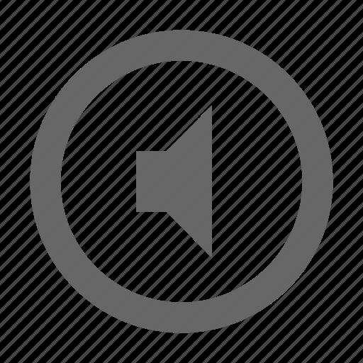 audio, media, multimedia, mute, sound, speaker, volume icon