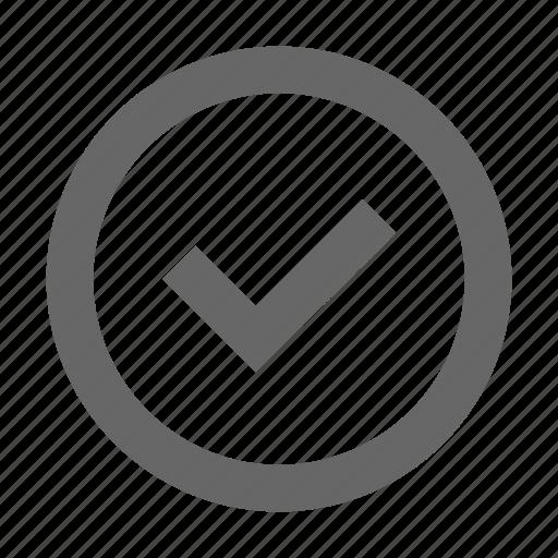 accept, approve, check, confirm, confirmation, select, success icon