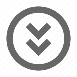 bottom, chevron, direction, down, download, guardar, save, south icon