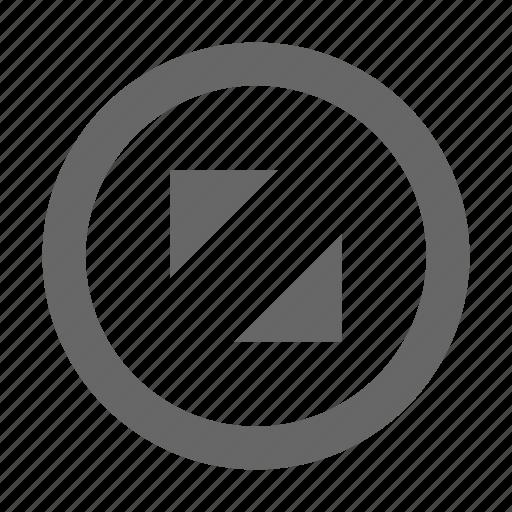 corners, diagonal, expand, fullscreen, maximize, resize, size icon
