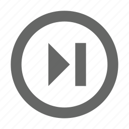 audio, forward, media, multimedia, next, skip, video icon
