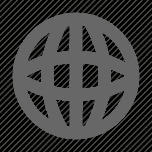 internet, language, localization, location, network, sphere, web icon