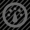 analytics, dashboard, gauge, speedometer, statistics, thermostat icon