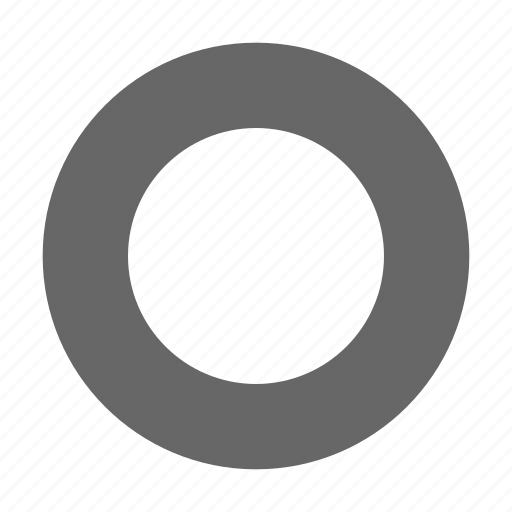 border, circle, media, radio button, record, select, unselected icon