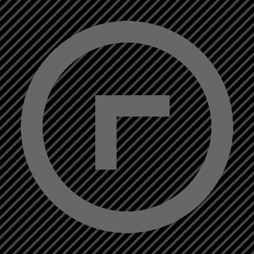 circle, left, top icon