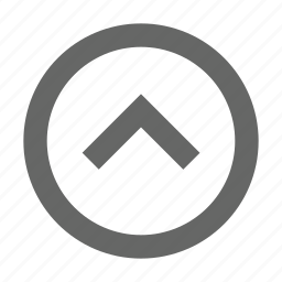 chevron, direction, navigation, north, top, up, upload icon