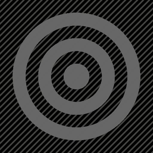 aim, archery, bullseye, crosshair, dart, radar, target icon