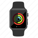 activity, apple watch, exercise, fitness, running icon