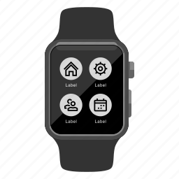 apple watch, context menu, device, iwatch, timepiece, watch icon