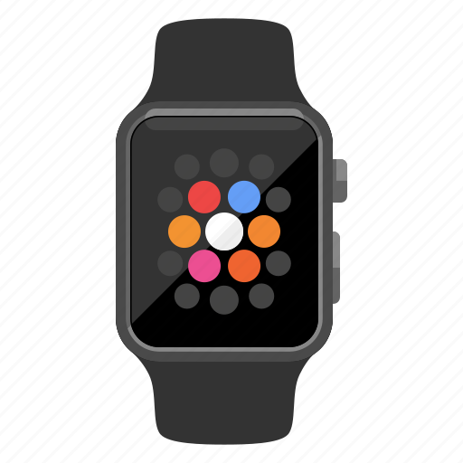 apple watch, device, home screen, iwatch, timepiece, watch icon