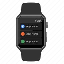 apple watch, device, iwatch, options, preferences, settings, watch icon