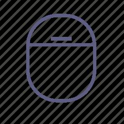 casement, gap, lantern, light, oval, showcase, window icon