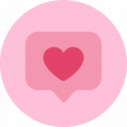 heart, like, love, notification, pop tag, tag icon
